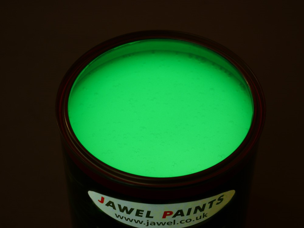 Polyester Basecoat Glow In The Dark Paint 1Litre