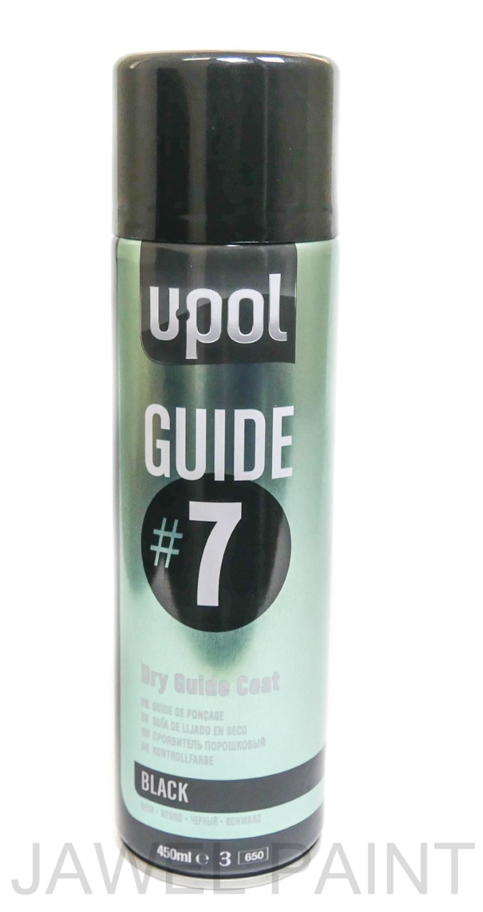 U-POL Guide Coat Aerosol Black #7 450ML