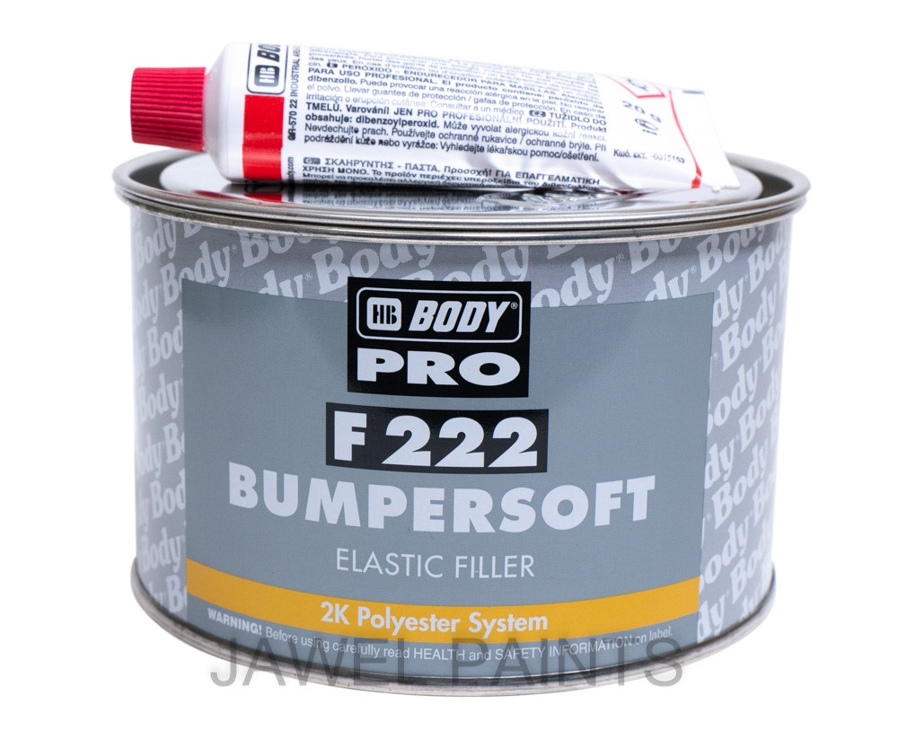 HB Body Bumpersoft 1KG Elastic Filler F222