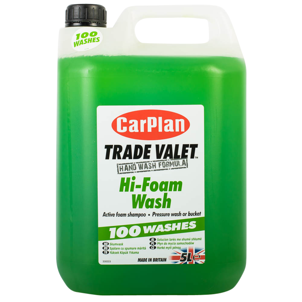 CarPlan Trade Valet Hi-Foam Wash 5Litre