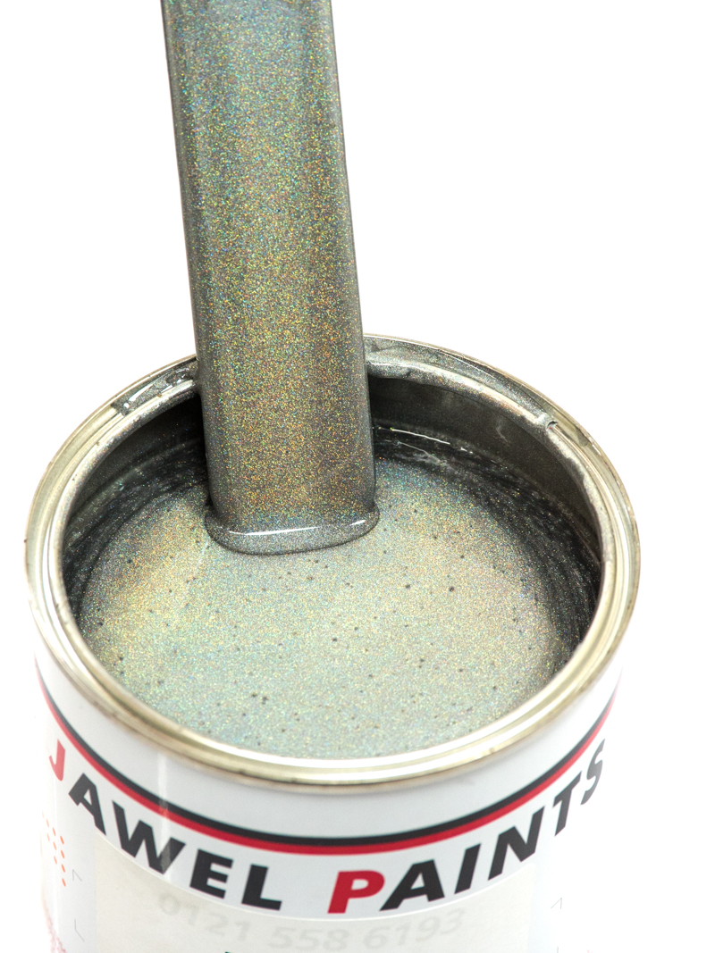 Polyester Basecoat Holographic Silver 1Litre