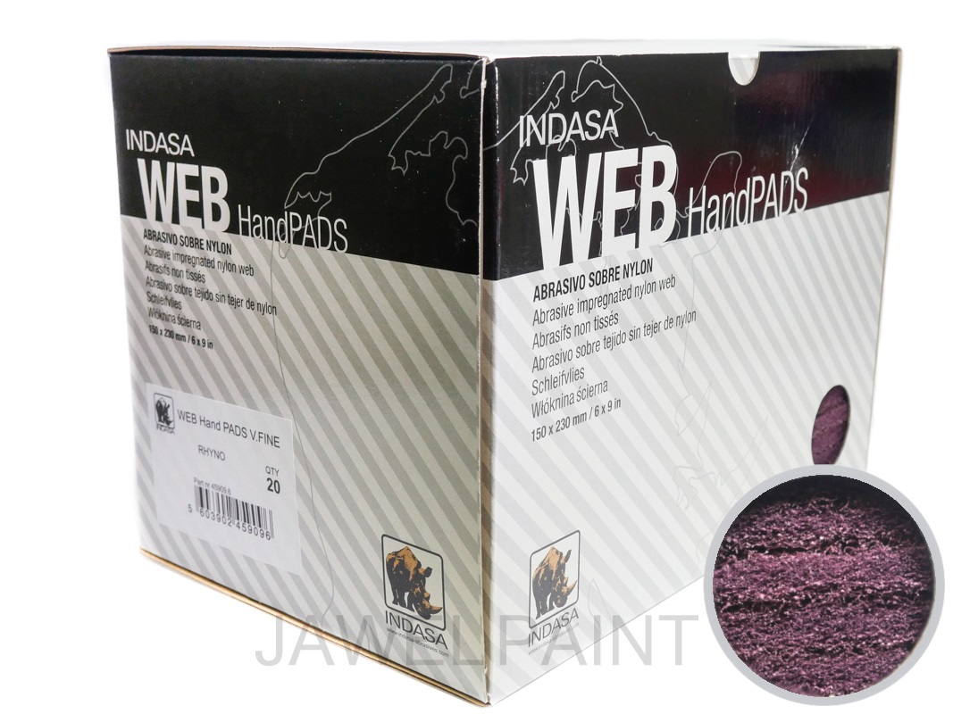 Nylon Web Finishing Pads RED PK20