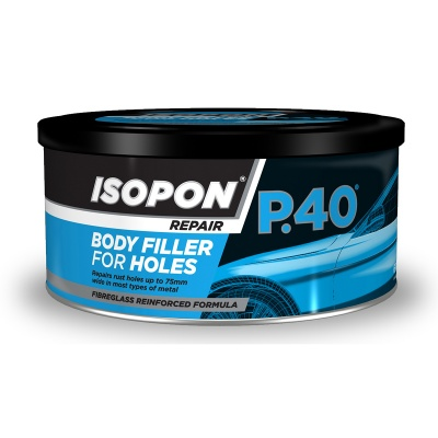 Isopon P40 Body Filler With Fibre Glass 250ML