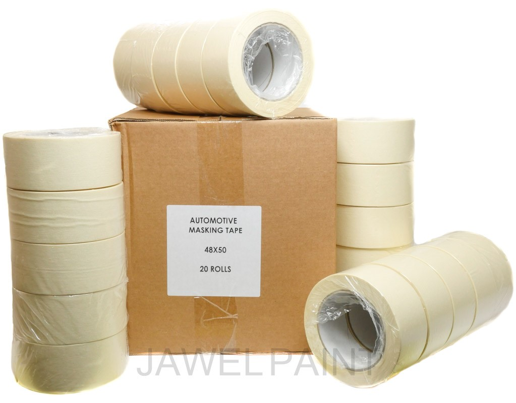 "Jawel High Quality Masking Tape 2"" Box of 20 Rolls"