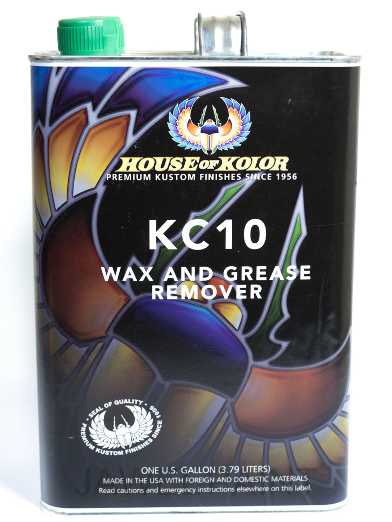 Wax & Grease Remover US Gallon KC10