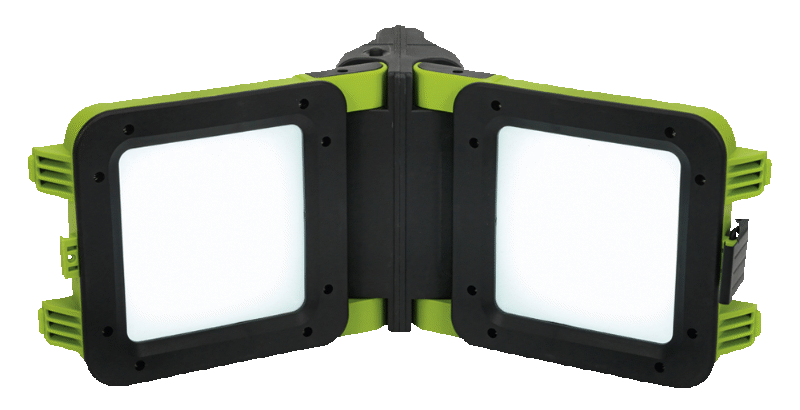 Sealey Rechargeable Floodlight 20W SMD Folding Case