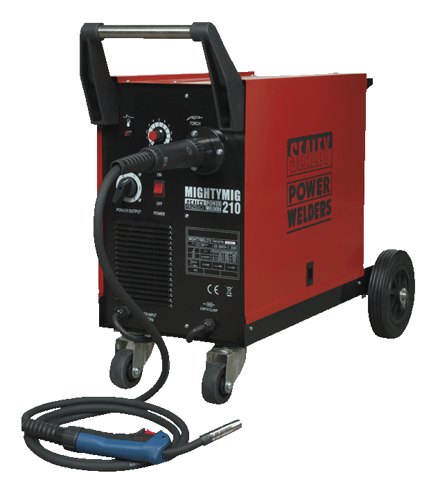 Mig Welder Mighty Mig 210Amp With Euro Torch
