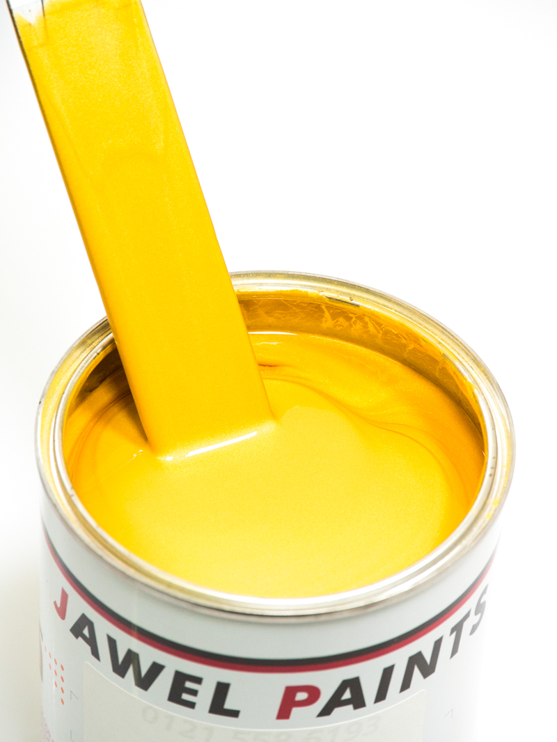 Polyester Basecoat Magic Yellow Pearl 1Litre
