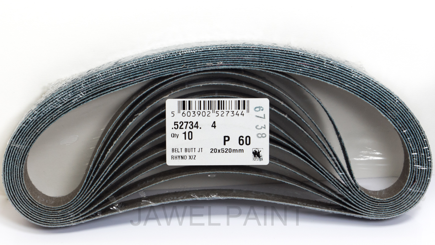 Large Sanding Belts 20x520mm 60 Grit