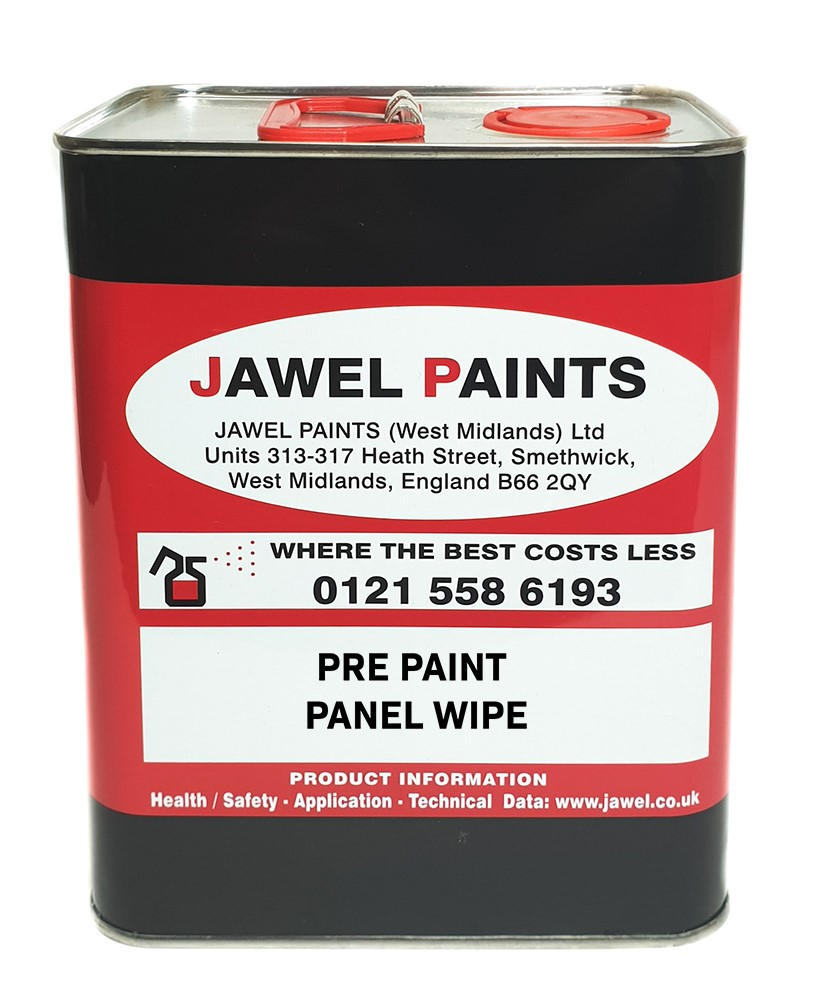 Panel Wipe 2.5 Litre Pre Paint De-Waxer