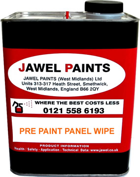 Panel Wipe 2.5 Litre Paint De-Waxer