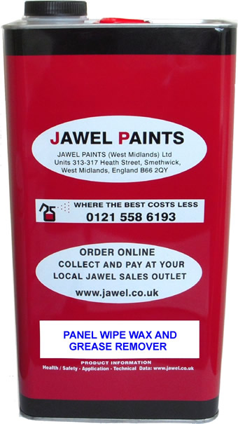 Panel Wipe 5 Litre Paint De-Waxer