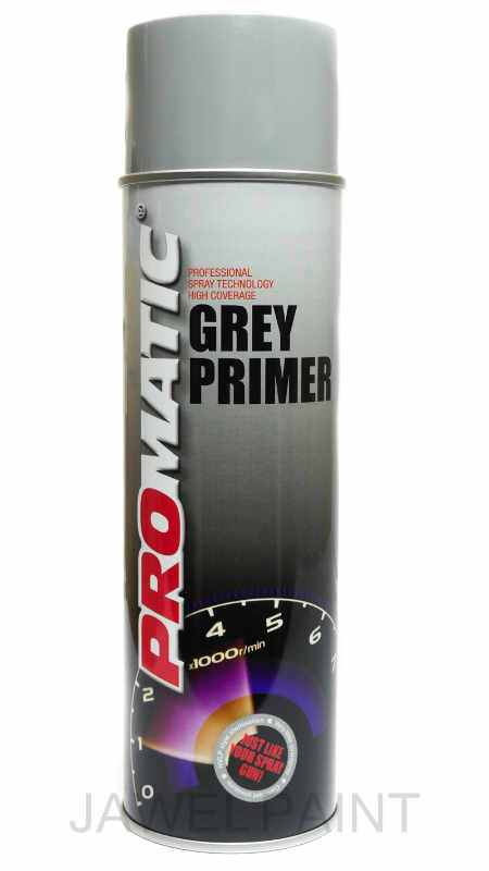 Promatic Grey Primer 500ml Aerosol