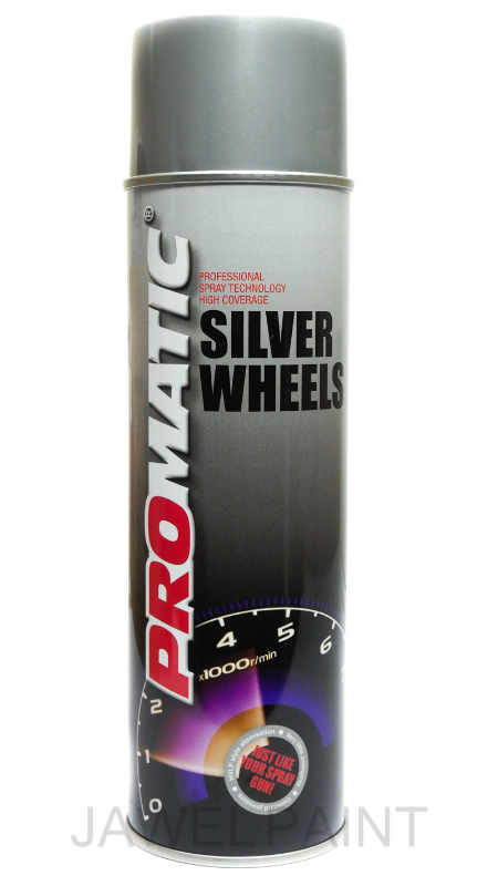 Promatic Wheel Silver 500ml Aerosol