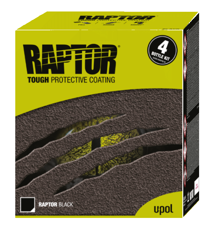U-POL Raptor 4 Bottle Kit Truck And Bed Liner