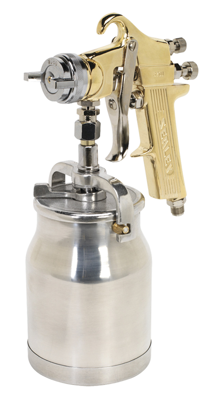 Sealey Suction Spray Gun Gold 1.8MM S701