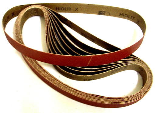 Mini Sanding Belts 20x520mm 40Grit
