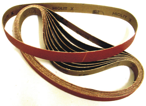 Mini Sanding Belts 10x330mm 40 grit