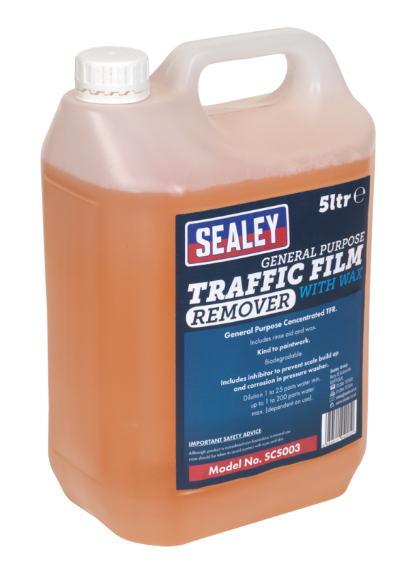 Traffic Film Remover With Wax 5Litre