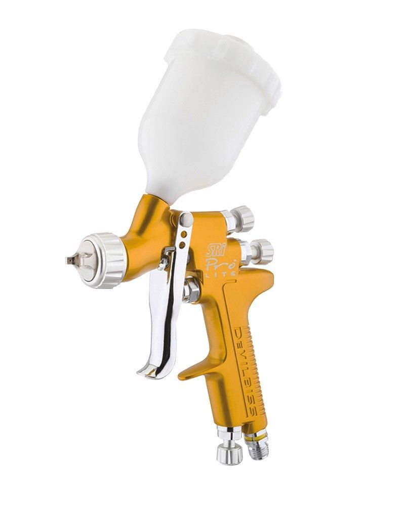De-Vilbiss SRI Pro Lite Spray Gun With 1.0mm Nozzle