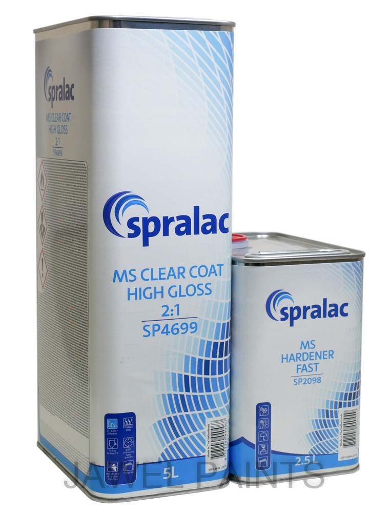 Spralac 2K High Gloss Clear Coat 7.5Litre Kit SP4699