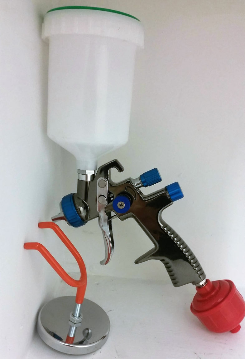 L.V.L.P Spray Gun Kit With Magnetic Holder & Water Trap