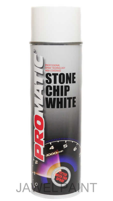 Promatic Stonechip Aerosol White 500ml