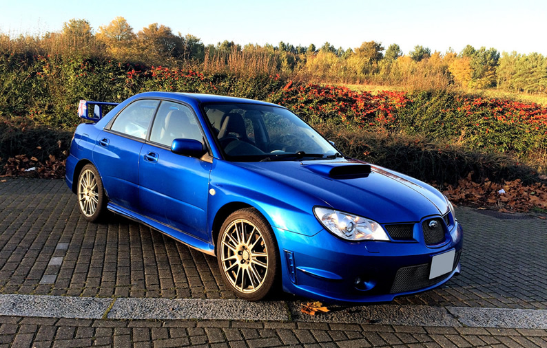 Subaru 02C World Rally Blue Pearl Paint Kit Solvent Basecoat