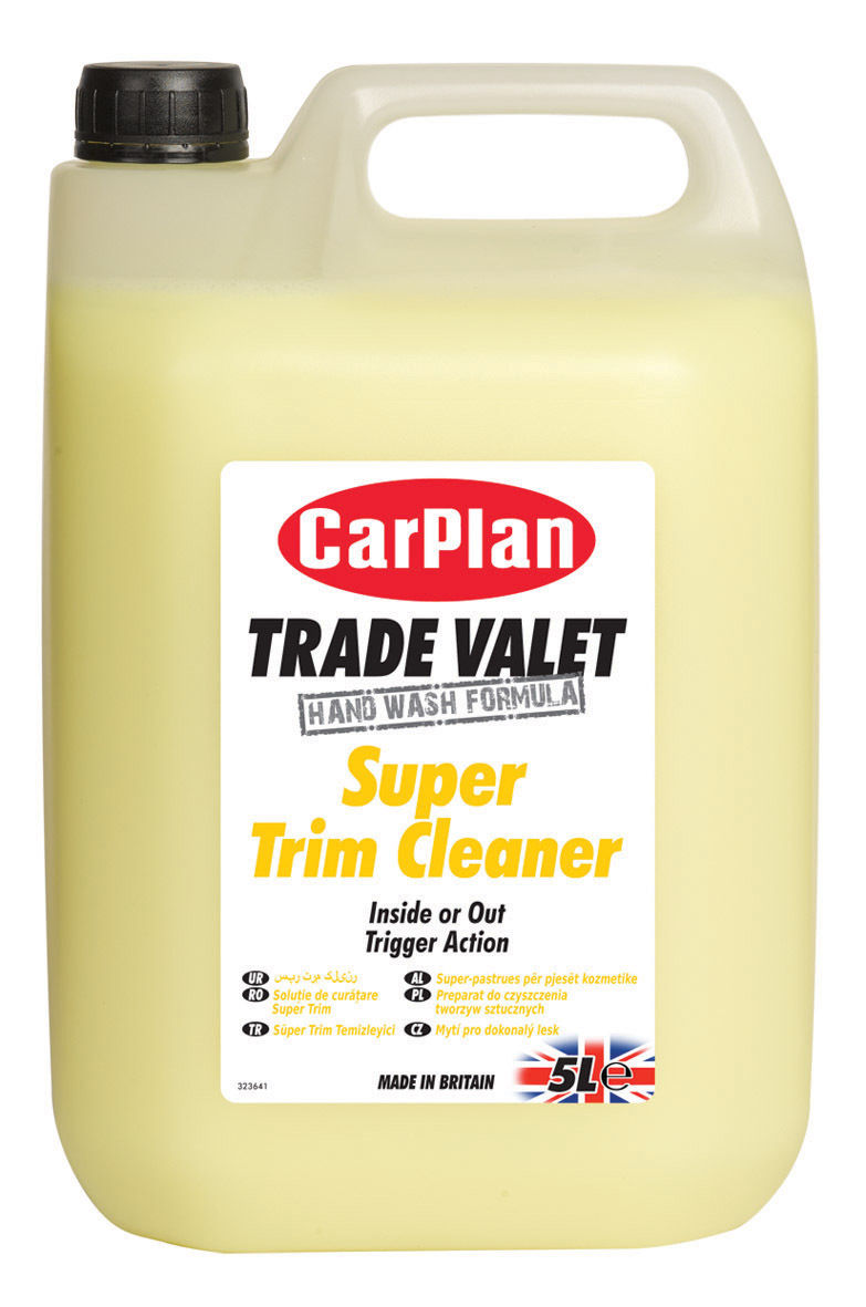 CarPlan Trade Valet Super Trim Cleaner 5Litre
