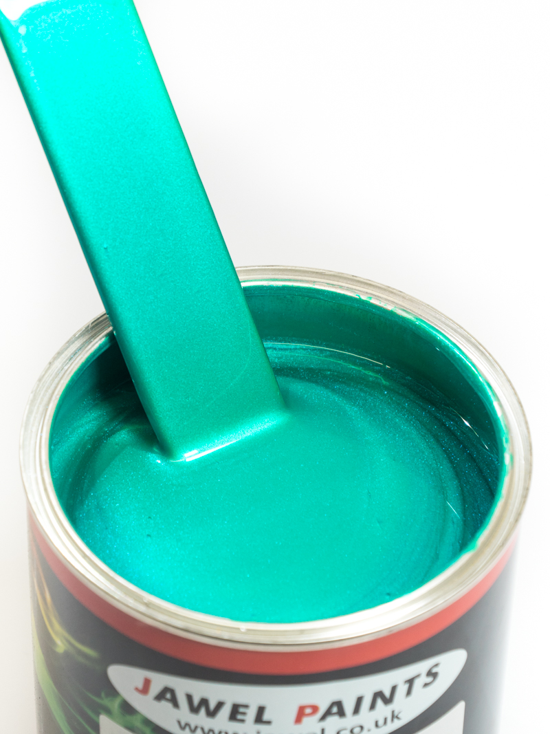 Polyester Basecoat Teal Pearl 1Litre