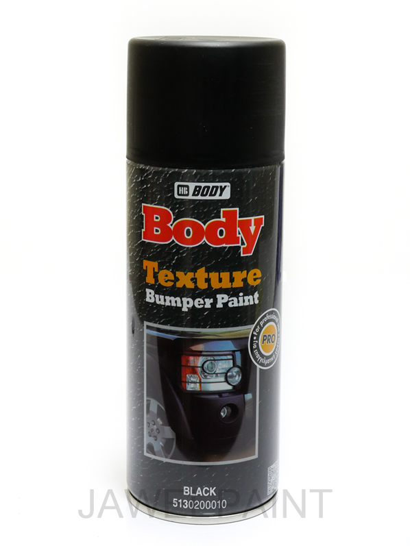 HB Body Texture Black Bumper Paint Aerosol 400ML