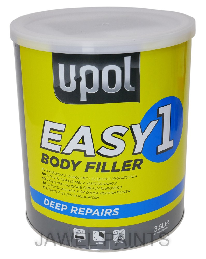 U-POL Body Filler Easy One 3Litre *Most Popular*