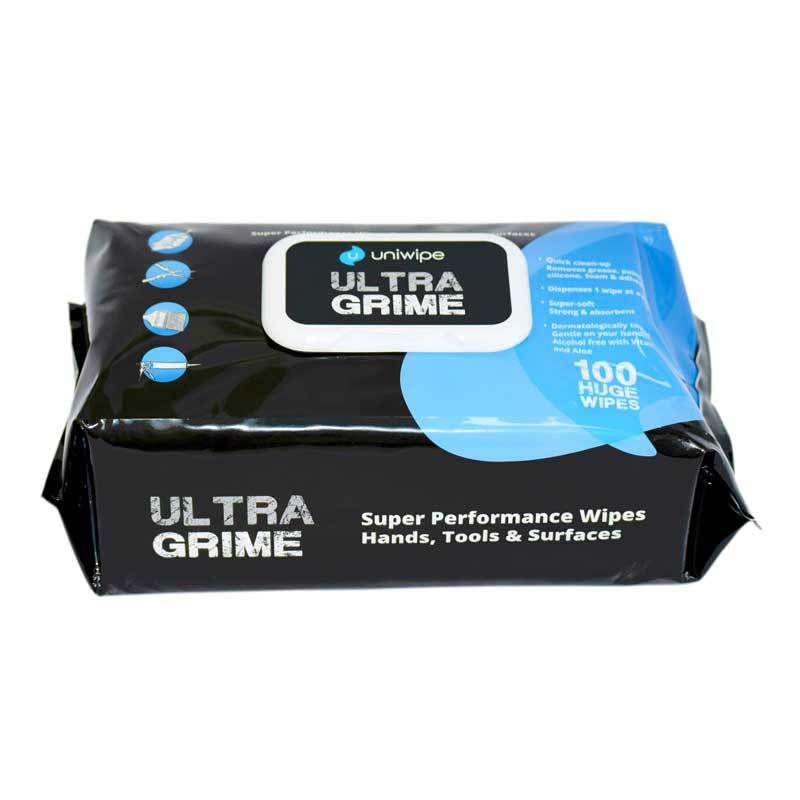 UltraGrime Industrial Wipes PK100