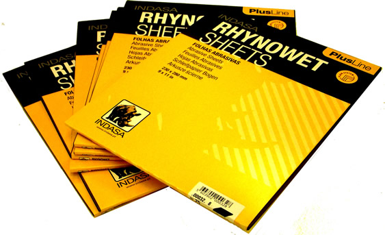 Indasa RHYNOWET Waterproof Paper 25 sheets