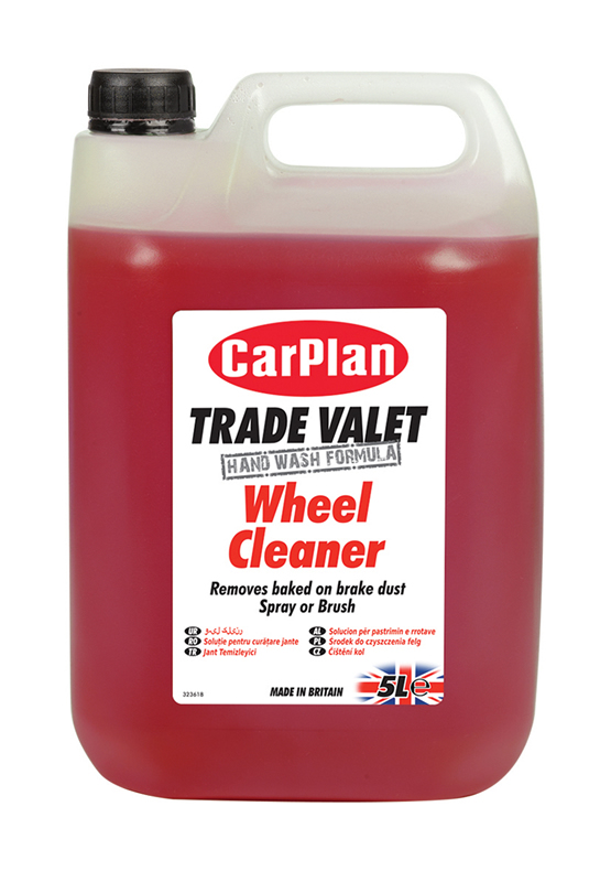 CarPlan Trade Valet Wheel Cleaner 5Litre