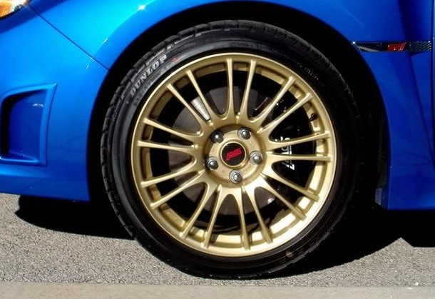 Subaru GK1 Wheel Gold Paint Kit Solvent Basecoat