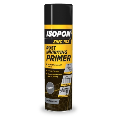 U-POL Zinc 182 Anti Rust Primer Aerosol 450ml