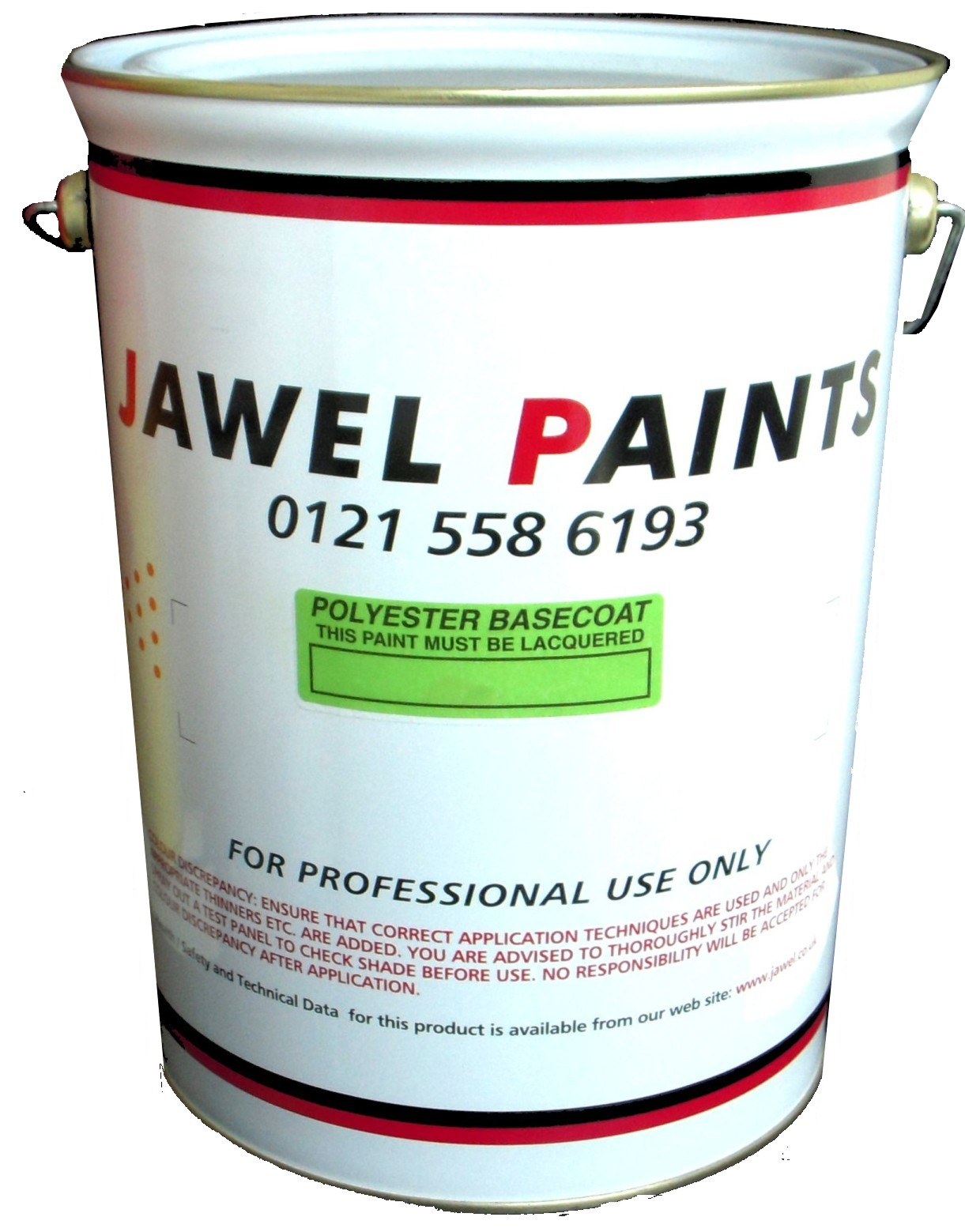 Polyester Basecoat Diamond Black Metallic 5Litre