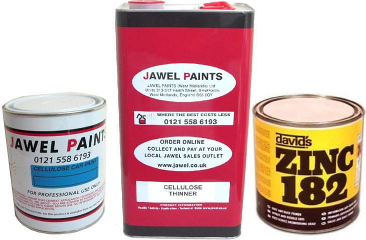 Cellulose Paint Bargain Kit 7Litre