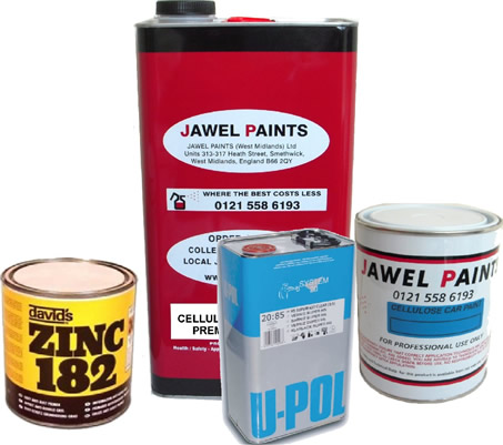 Cellulose Paint Bargain Kit 8Litre