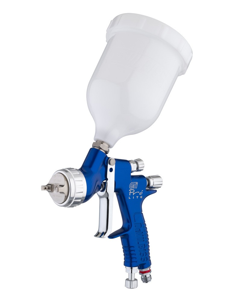 De-Vilbiss GTI Pro Lite Spray Gun Supplied with 1.3mm & 1.4mm