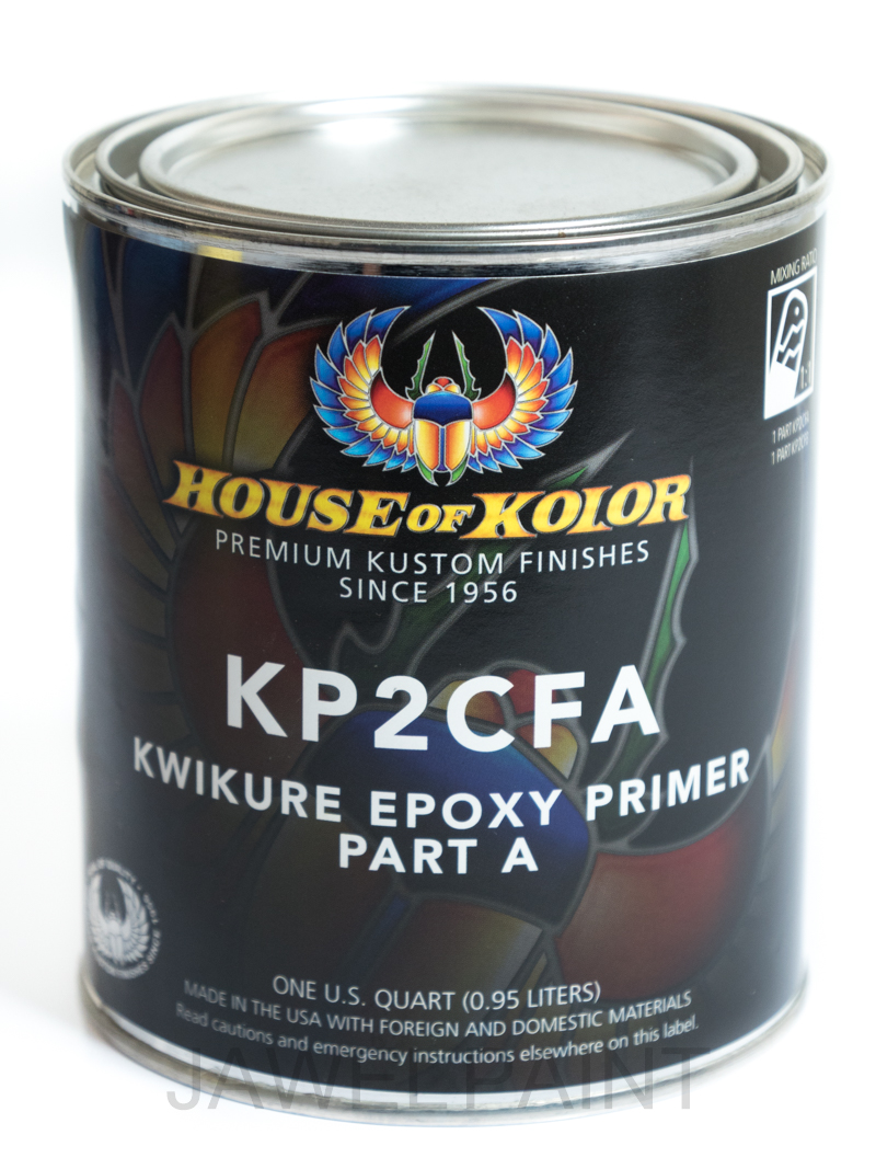 KWIKURE Epoxy Primer (chromate free) Part A US QT
