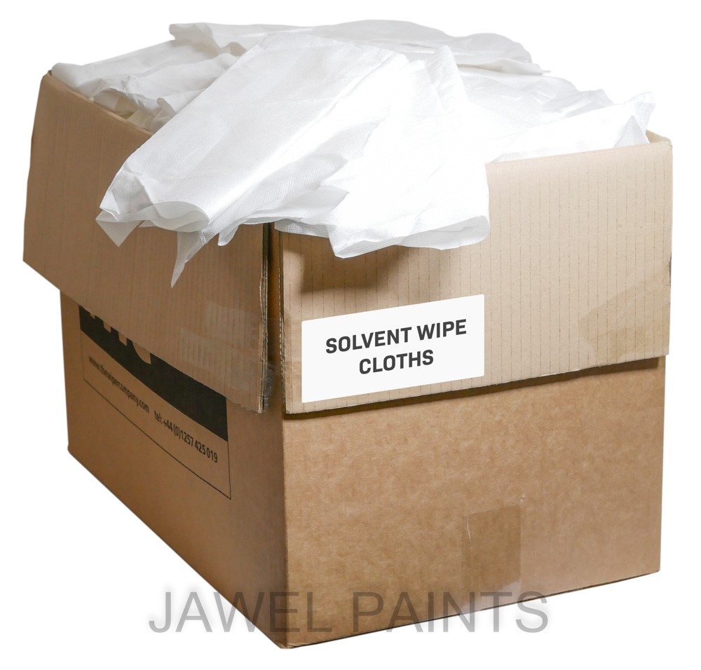 Solvent Resistant Wipes 400 Cloths
